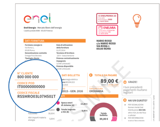 Bill Payment, Reporting a Meter Reading and More by Text | Enel